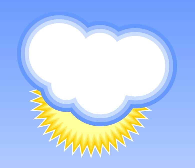 Pogoda w Bieszczadach (9 sierpnia 2011)