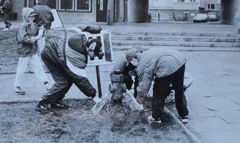 Kiedyś to było lanie! Śmigus-Dyngus w Białymstoku na przełomie wieków (zdjęcia)