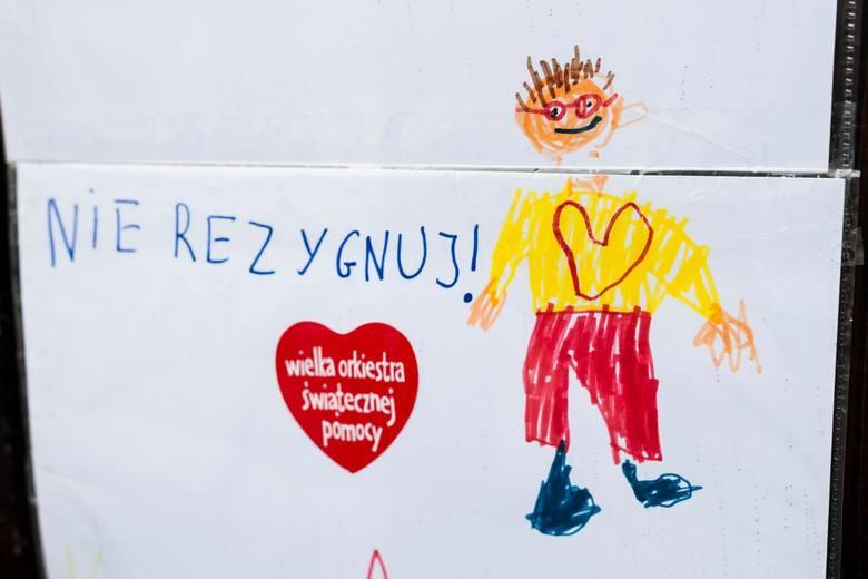 12.02.2018 krakow, szpital dzieciecy uniwersytecki, prokocim, uj, przekazanie przez wosp karetki pogotowia, nz jerzy jurek owsiak, fot. andrzej banas