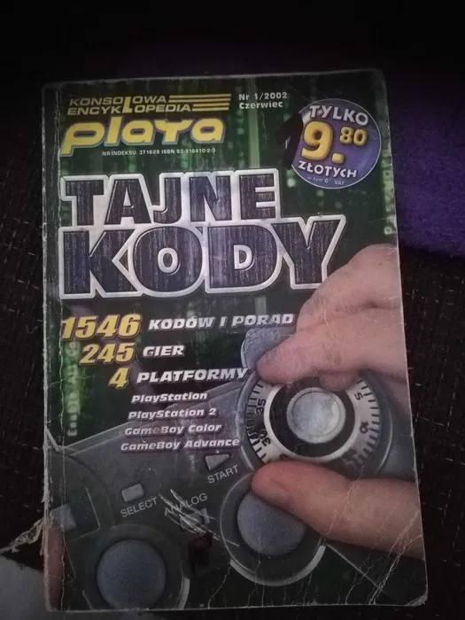 Tajne kody - książka 2002Szczegóły oferty TUTAJID ogłoszenia: 654405627