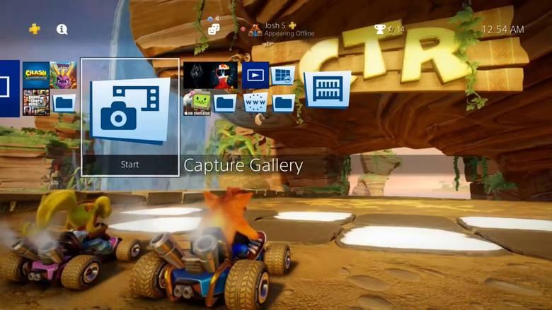 Sony udostępniło motyw z gry Crash Team Racing Nitro-Fueled