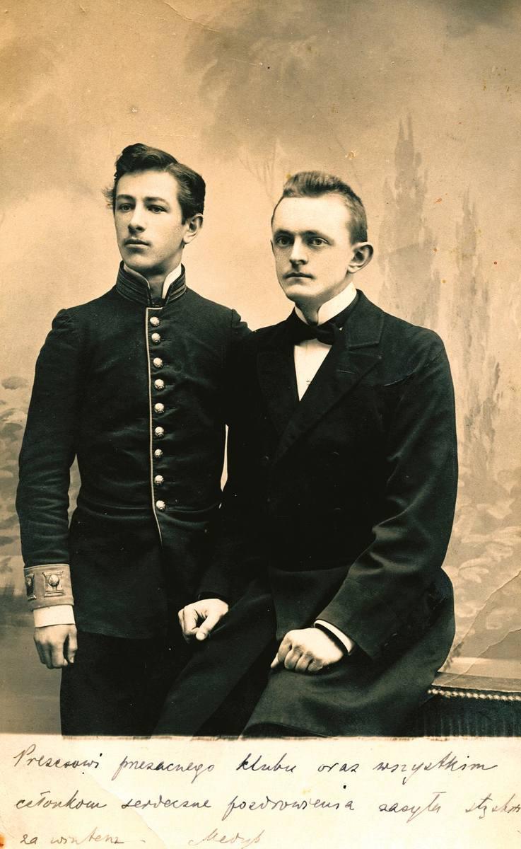 Po prawej Stanisław Witalis Moskalewski (1876-1936) objął stanowisko wojewody lubelskiego w 1919 roku