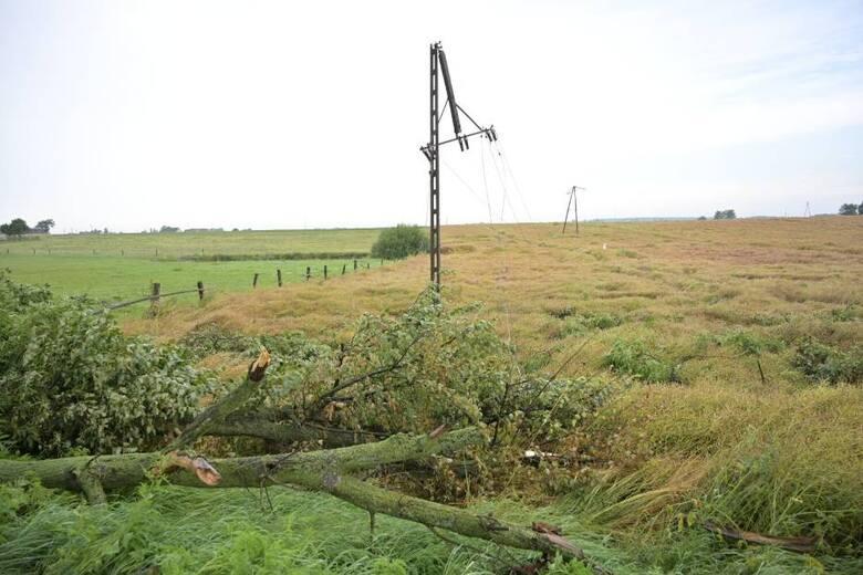 Z powodu burzy wiele osób zostało pozbawionych prądu. Spore straty odnotowano w Grudziądzu i powiecie grudziądzkim