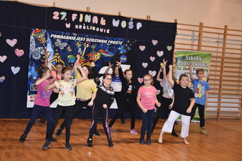 W niektórych sołectwach  w gminie Szubin Orkiestra zaczęła grać już w sobotę m.in. w szkołach w Królikowie i Kołaczkowie. Nie zaproszono wielkich gwiazd.