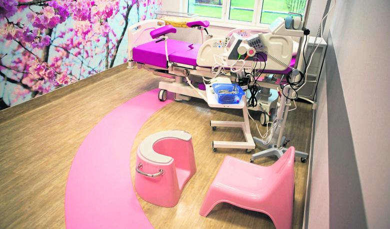 Oddział ginekologiczno-położniczy w szpitalu w Słupsku błyszczy jak perełka