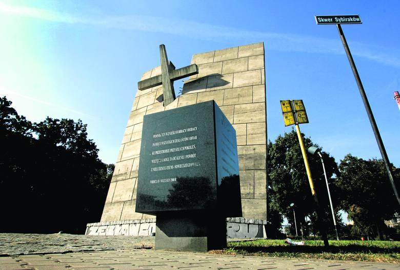 Pomnik sybiraków we Wrocławiu