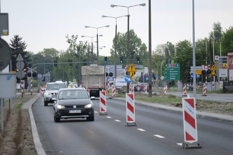Drugi etap przebudowy ul. Grudziądzkiej już od piątku