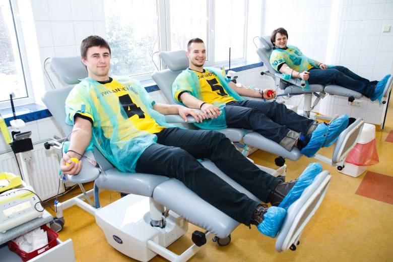 Lowlanders Białystok - Futboliści oddali krew (zdjęcia)