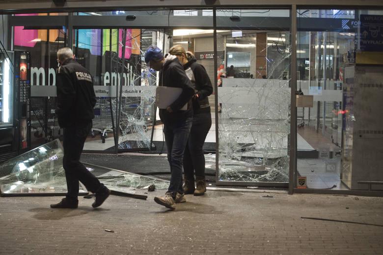 Napad w Forum w Koszalinie na Jubilera