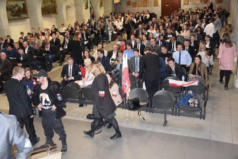 Wszechpolacy i narodowcy na Jasnej Górze 1 kwietnia 2017