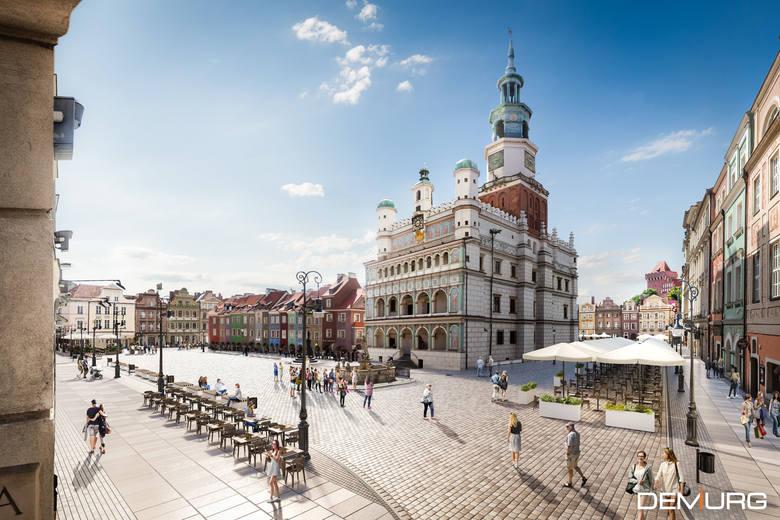 Stary Rynek będzie miejską perełką - czekamy do 2021 roku, gdy zakończy się remont płyty rynku