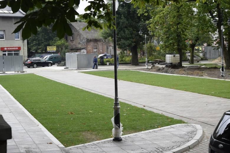 Pierwszy trawiasty parking przy ul. Rawskiej