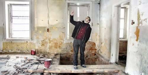 Dzięki pieniądzom z Unii Mirosław Augustyniak będzie mógł przyjąć pierwszych gości w sylwestra 2011 roku