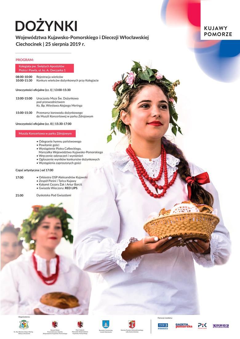 Już za kilka dni Dożynki Wojewódzkie 2019 w Ciechocinku. Kujawsko-Pomorskie święto plonów