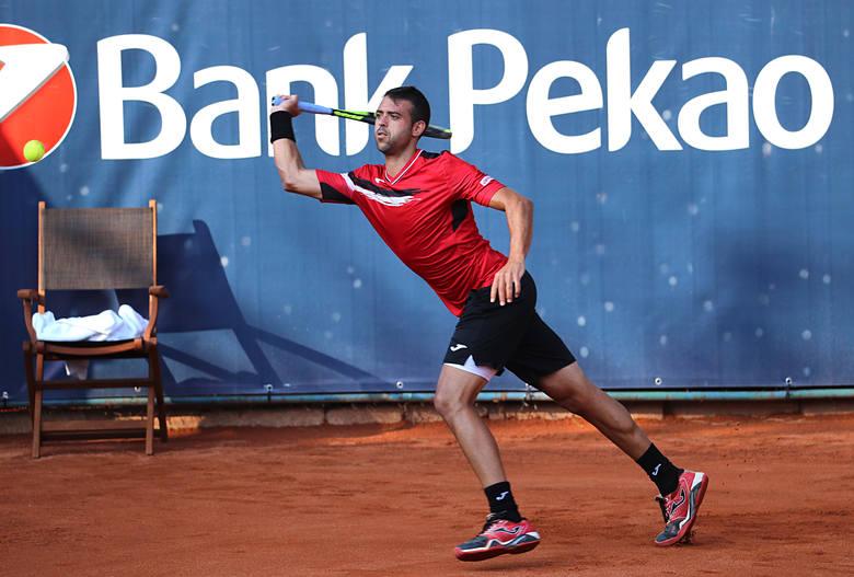 PEKAO Szczecin Open. Ciaś postraszył Montanesa