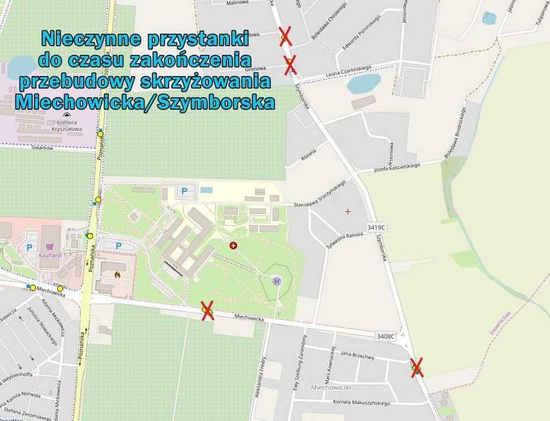 To skrzyżowanie w Inowrocławiu będzie zamknięte. Od poniedziałku pojedziemy objazdem