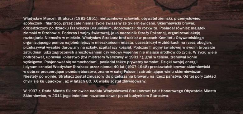 Władysław Strakacz i jego browar. Akademia Twórczości zaprasza na wernisaż