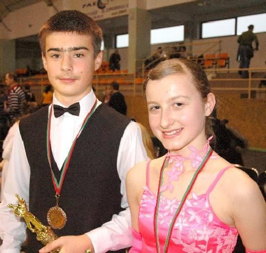Wśród gospodarzy najlepiej wypadli Patrycja Bak i Marek Grzesiak, którzy w swojej kategorii wytańczyli trzecie miejce