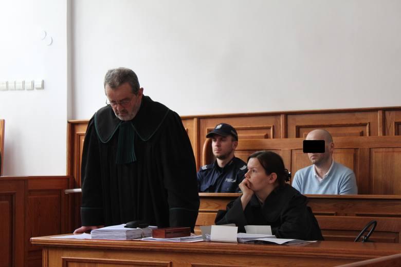 Mec. Władysław Pociej i oskarżony Mateusz G.