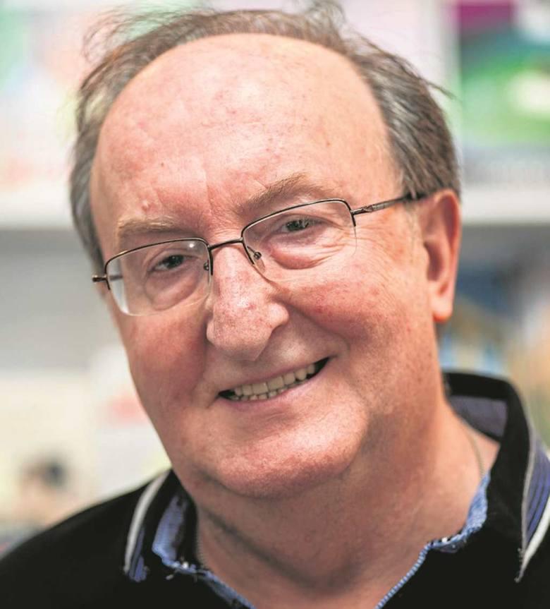 Jerzy Besala, historyk, autor książek popularnonaukowych