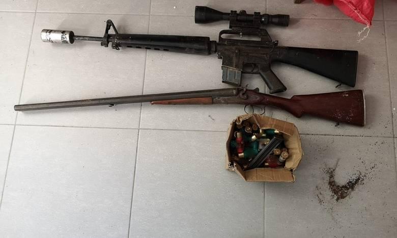 Zatrzymany mężczyzna miał nielegalną broń i amunicję