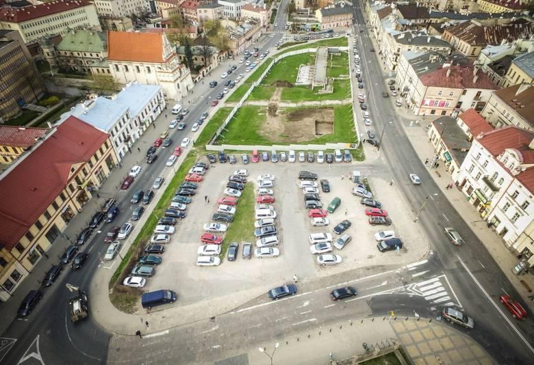 Teren między ul. Lubartowską i Świętoduską w Lublinie