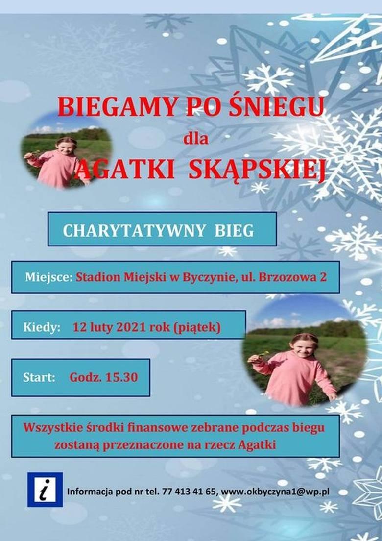 Trwa zbiórka na ratowanie i leczenie Agatki Skąpskiej spod Byczyny.