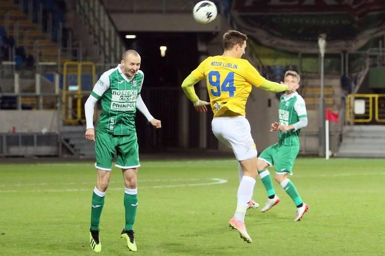 Wisłoka (zielone stroje) nie zrobiła niespodzianki na Arenie Lublin.