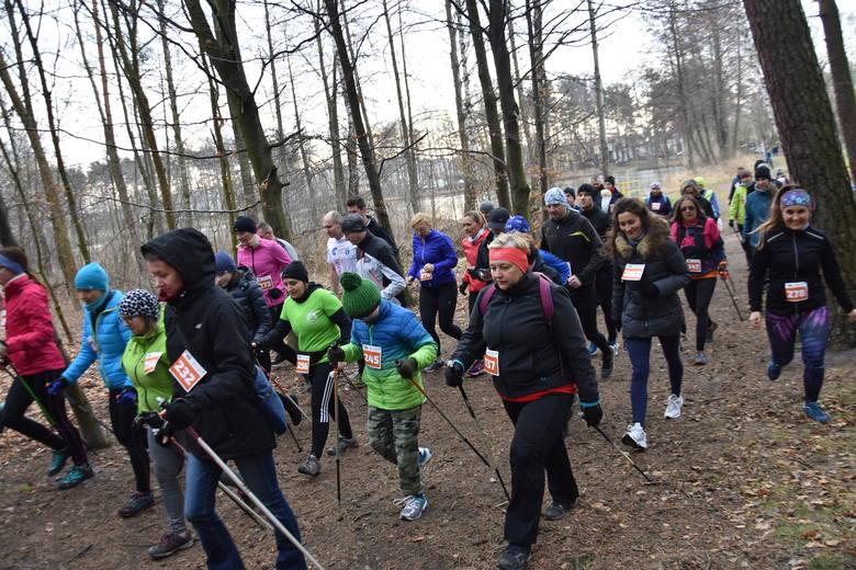 Walentynkowy bieg na Dotyku Jury w Myszkowie
