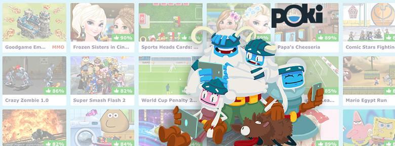 Popularna gra Color Switch zagościła w sieci dzięki współpracy z Poki
