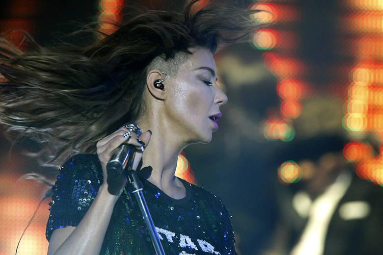 Edyta Górniak świętowała 25-lecie kariery koncertem love 2 love w łódzkiej Atlas Arenie.