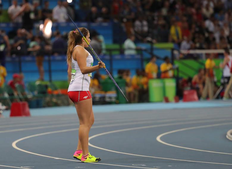 Maria Andrejczyk na Igrzyska Olimpijskich w Rio de Janeiro w 2016 roku