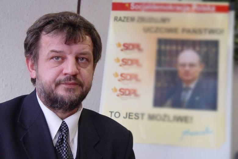 """Rufin Sokołowski sam zorientował się, że mężczyźni przedstawiający się jako policjanci, to """"przebierańcy."""