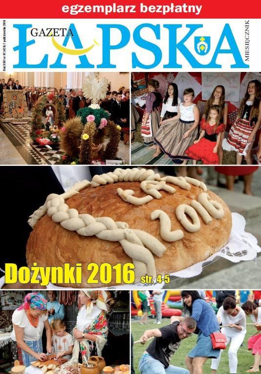 Gazeta Łapska to bezpłatne pismo