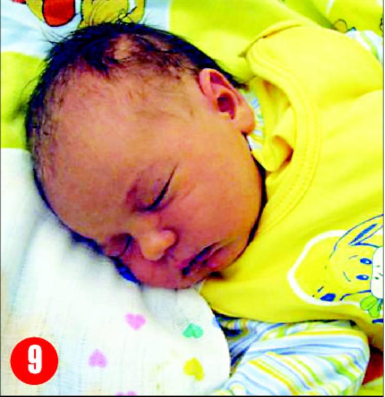 Amelia, córka Anny i AdamaDomian z Myszynca, urodzila sie3 sierpnia o godz. 9.50. Wazyla 3740g, mierzyla 57 cm.