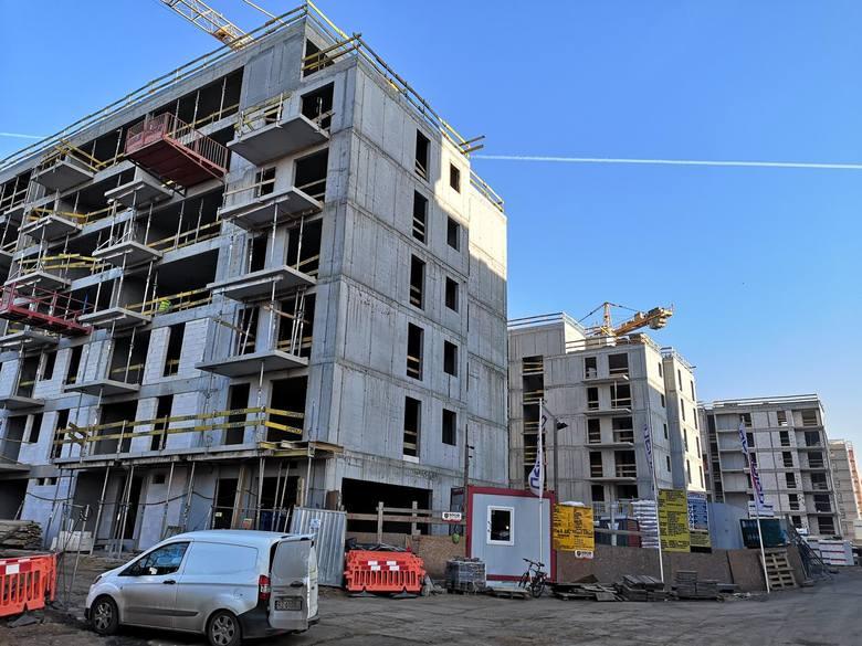 Kraków. Budowa ogromnego osiedla przy ul. Wrocławskiej. Zobaczcie, jak wygląda  [ZDJĘCIA]