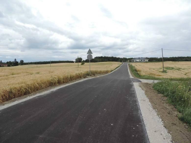 Remont drogi w Anielewie już się zakończył