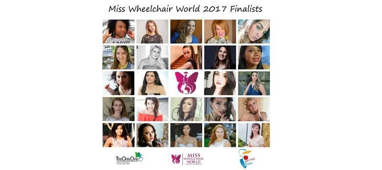 Finalistki Miss Wheelchair World 2017 wybrane!