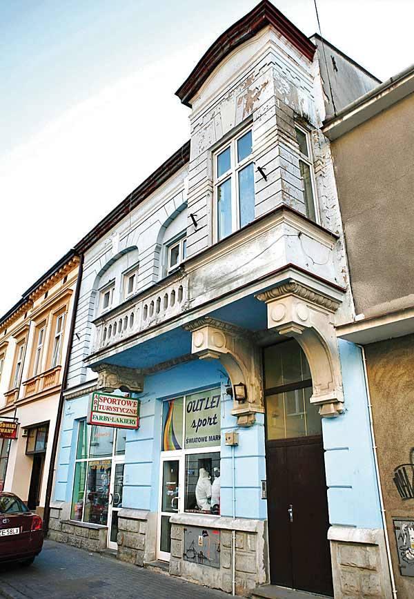 Pierwsza siedziba Nowin - kamienica przy ul. Gałęzowskiego 7 w Rzeszowie