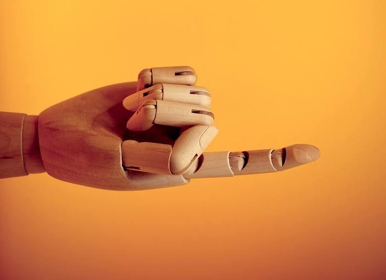 PRZYWOŁANIE PALCEMW naszej kulturze wyciągnięcie w czyimś kierunku palca i zgięcie go jest gestem przywołania, który można zastosować wobec bliskich