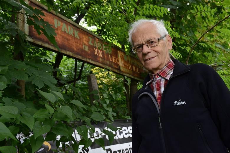 Zdaniem radnego Andrzeja Bielerzewskiego park XX-lecia PRL. należy uporządkować. Pomyśleć należy też nad zmianą nazwy