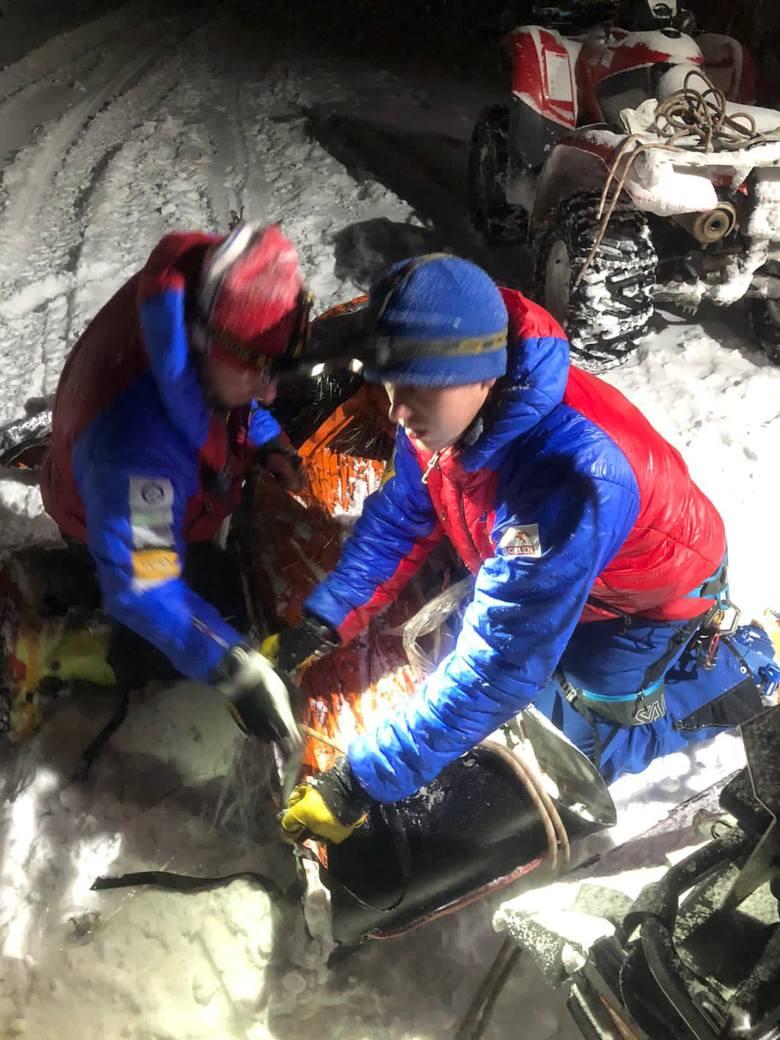 Z powodu załamania pogody aż 11 osób zostało uwięzionych w czwartek 11 marca rejonie szczytu Babiej Góry. Na pomoc turystom ruszyli ratownicy GOPR.