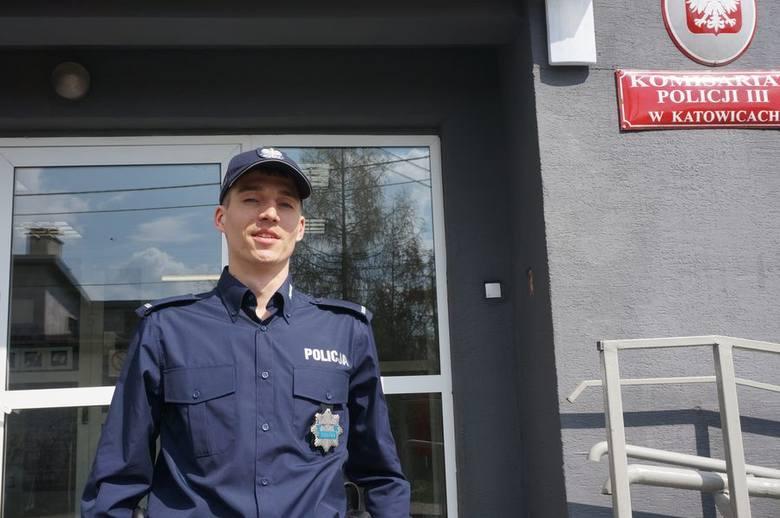 Policjant z Katowic ma szansę na olimpiadę [ZDJĘCIA]