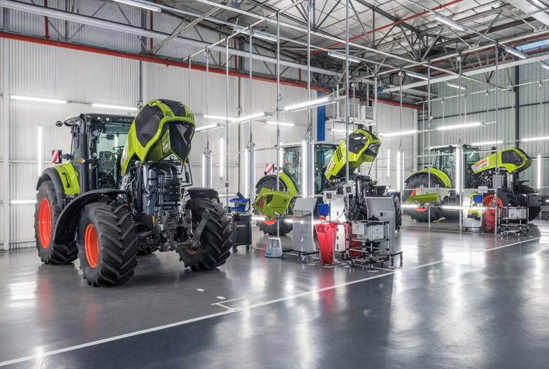 Fabryka ciągników Claas w Le Mans we Francji