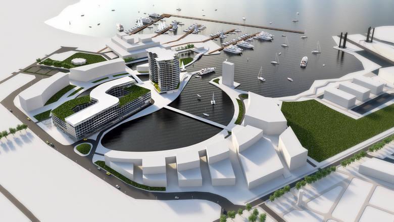 Zatoka Gorących Źródeł nad jeziorem Dąbie. Inwestycja za około miliard złotych [WIZUALIZACJE]