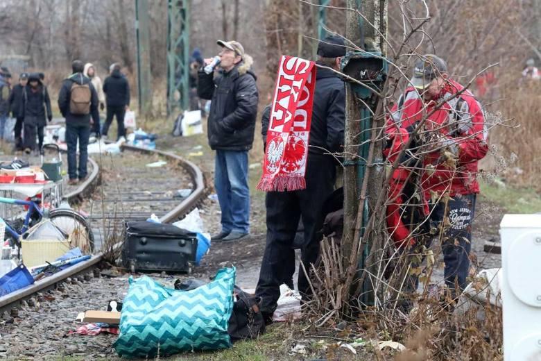 Targ na Świebodzkim. Obraz nędzy i rozpaczy. To ma być europejska metropolia?