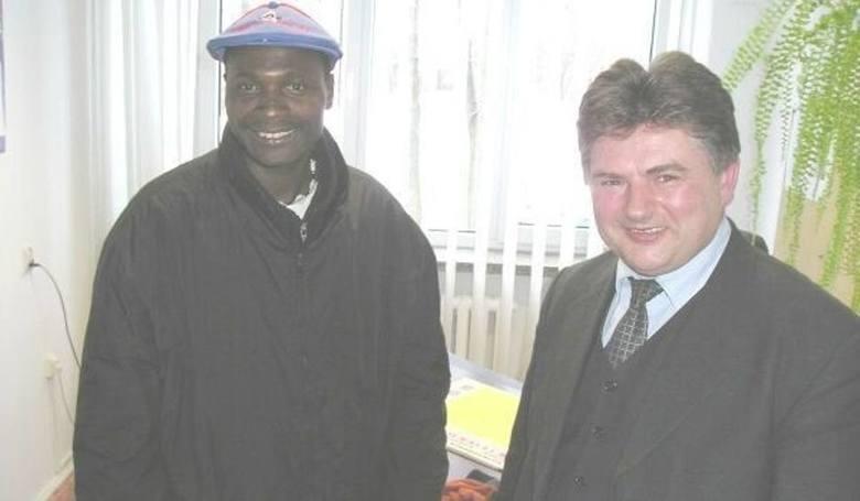 Gwinejczyk Camara został sprowadzony w 2005 jeszcze przez zarząd prezesa Waldemara Kaczmarskiego