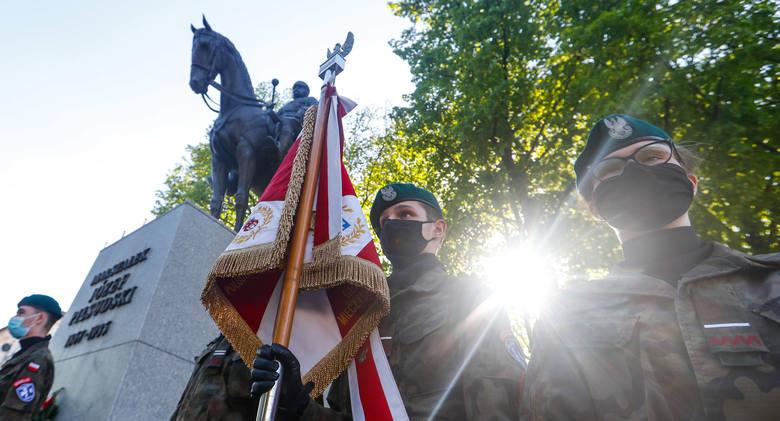 Obchody 86. rocznicy śmierci Marszałka Józefa Piłsudskiego w Rzeszowie.