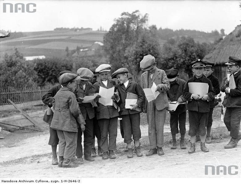 Zakończenie roku szkolnego. Czerwiec 1936 rok