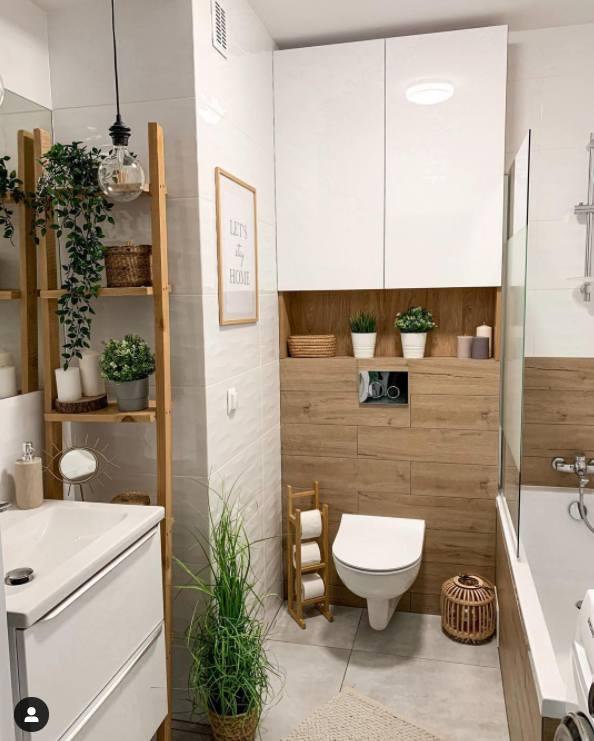 Niektóre łazienki wyglądają jak z katalogu. Ich wystrój jest bardzo przemyślany i praktyczny.